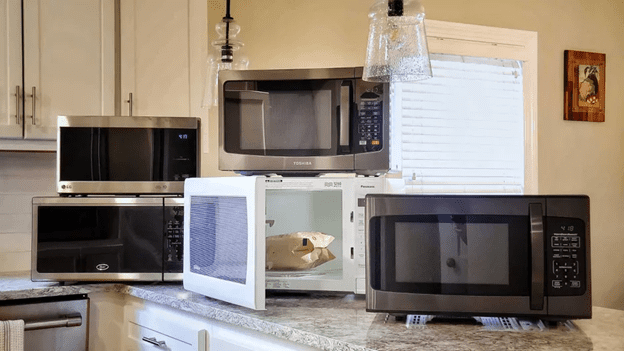 Built in microwave in your kitchen and countertop models in your home