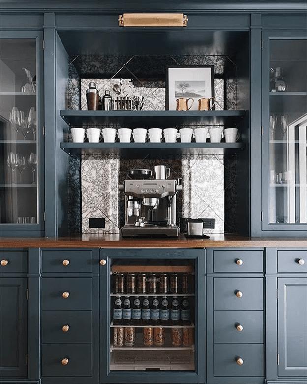 Amazing home coffee bar