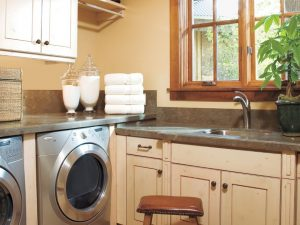 Add a sink and item in your laundry room into your vacation home