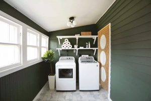 Laundry rooms after washer dryer beautifully created and maintained decor tile backsplash
