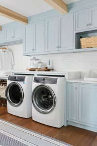 Utility room and laundry room ideas with washer and dryer server