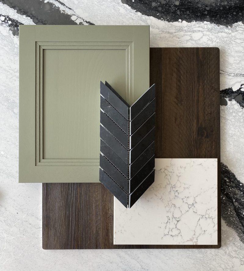 Sage Green Kitchen Cabinets - Lakewood Ohio