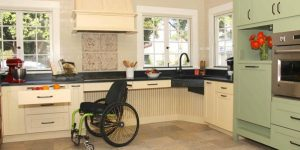 wheelchair accessible kitchen design which is best kitchen layout with base cabinets