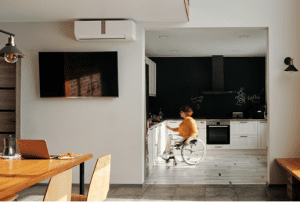 Best Accessible kitchens design with appliance doors and wall cabinet doors appliance controls spaces