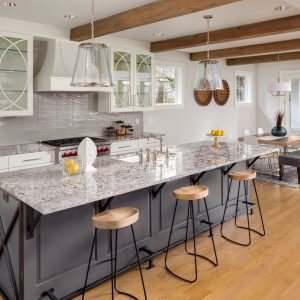 Best properly sealed and stain-resistant granite slabs and mid-grade granite countertops