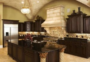 Polished Black Galaxy Granite countertop in the square foot is quite affordable