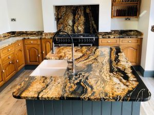 Low maintenance expensive granite countertops prevent stains