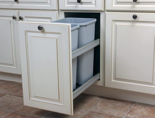 Trash Can Cabinet Pull-Out