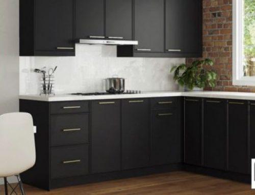 Black Slab Kitchen Cabinets – Belmont Apex