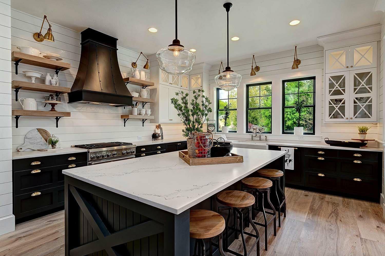 Modern farmhouse style kitchen remodel