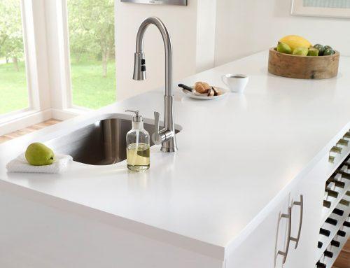 A Beautiful Kitchen Surface With Caesarstone Quartz